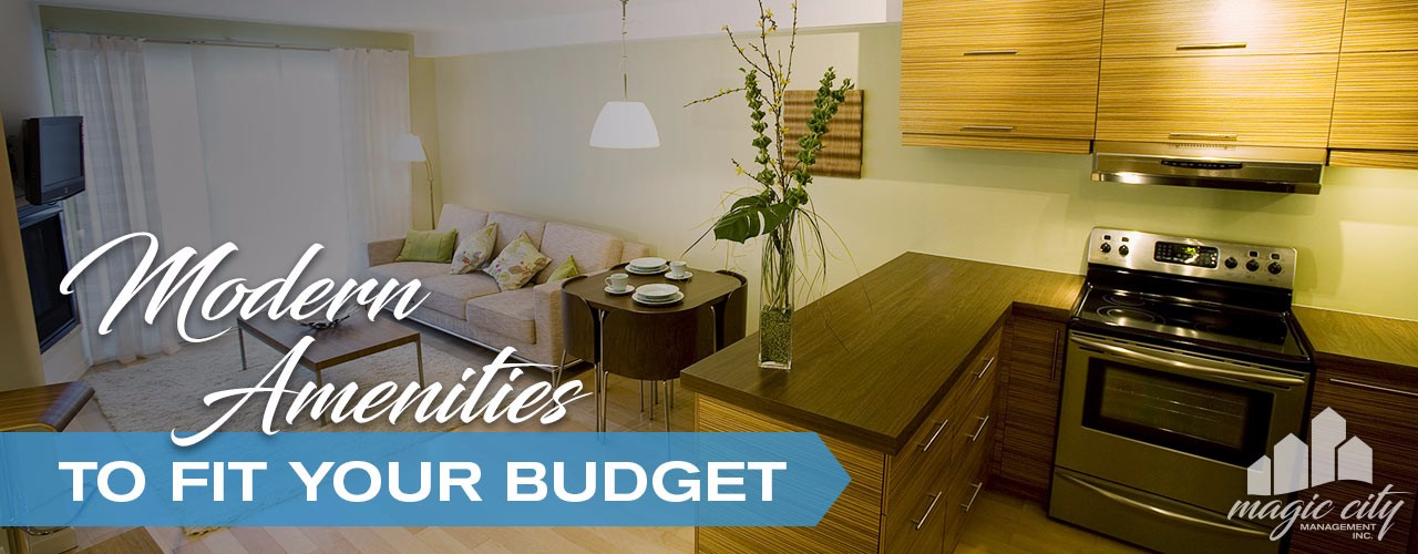 Modern amenities to fit your budget